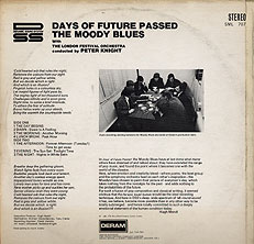 Days of Future Passed 1967 [ back cover]
